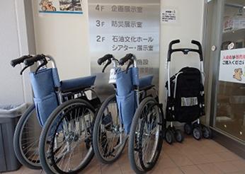貸出用 車椅子・ベビーカー